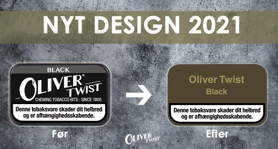 NYT Oliver Twist æksedesign 2021